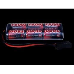 7,2v 1600mAh NiMh batteri - mini stick pack