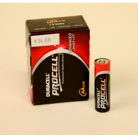 Duracell ProCell AA batteri 1,5V - 1 styk.