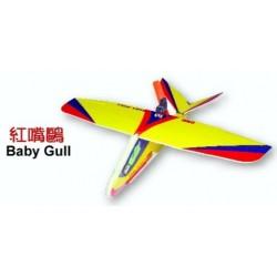 Mikro-fly - fedt saml selv fjernstyret fly - Baby Gull