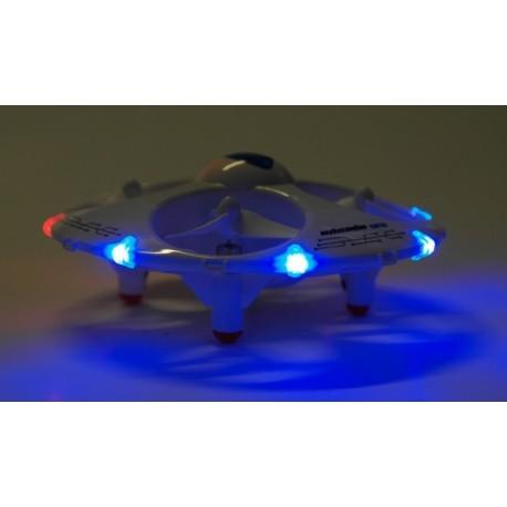 Fjernstyret UFO drone - sikkerheden i top!