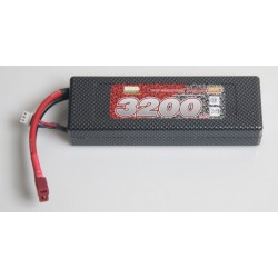 LiPo 7,4V 3200mAh 25c - Hardcase