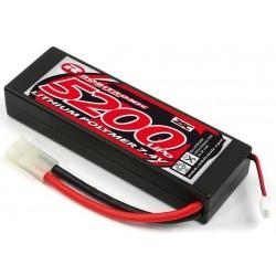LiPo 7,4V 5200mAh, 25c 2s, hardcase - tamiya stik