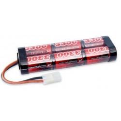 7,2V - 4000mAh - NiMh m. Tamiya-stik batteri fra Vapex