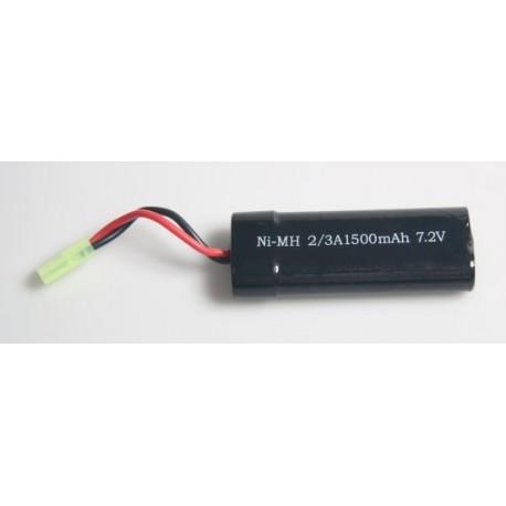 7,2V NiMh 1500mah - billigt lille batteripakke