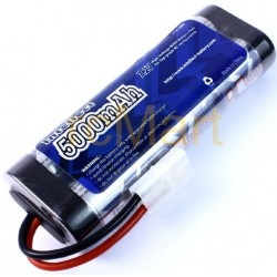 7,2V NiMh 5000mAh batteri med Traxxas-stik