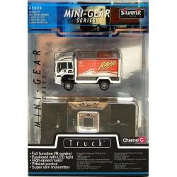 Mini lastbil m. lys - Silverlit I/R R/C Mini-Gear Series