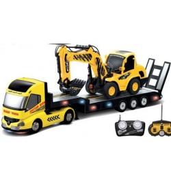 2 i 1 - Heavy Truck - lastbil med lad og gravko