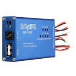 LIPO BALANCE CHARGER 6X1S - lader til Hubsan batterier