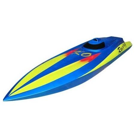 Flame 600BP RTR Brushless Vandkølet glasfiber båd *Meget Hurtig*
