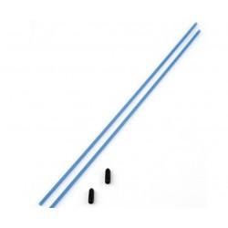 Løs antenne til f.eks. fjernstyret bil eller båd 2 styk i blå