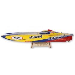 Victory 860BP børsteløs fjernstyret båd - MEGET hurtig