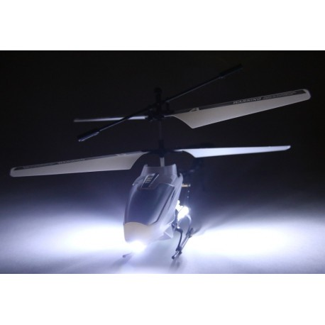 Fjernstyret helikopter - med ekstremt LED lys!