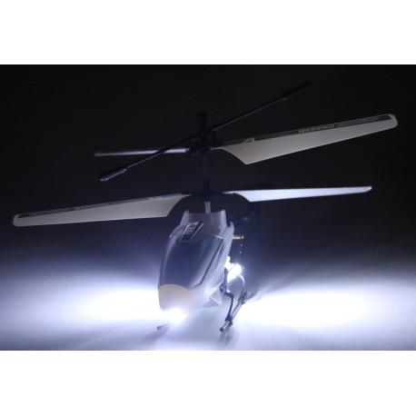 Fjernstyret helikopter - med ekstremt LED lys!