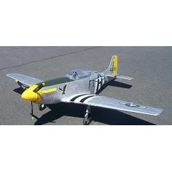 Dynam P-51 Mustang - fedt fjernstyret fly fra 2. verdenskrig!