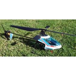 Walkera 4 helikopter med LiPo-upgrade