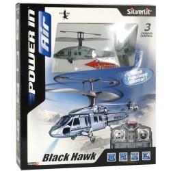 Silverlit Black Hawk Fjernstyret helikopter 3 kanaler med Gyro