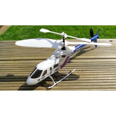 Silverlit Z-Bruce - livlig fjernstyret helikopter - 4 kanaler!