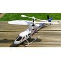 UDSALG: Silverlit Z-Bruce - livlig fjernstyret helikopter - 4 kanaler!