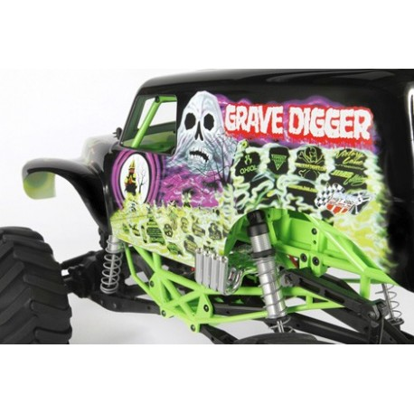 Axial SMT10 Grave Digger Monster Jam Truck 1/10th Scale Electric 4WD – RTR