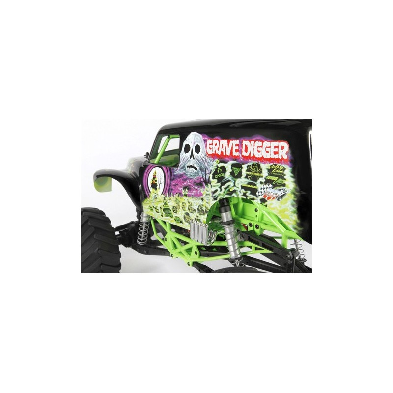 Axial SMT10 Grave Digger Monster Jam Truck 1/10th Scale ...
