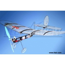 TILBUD: 35Mhz Cupid 610-2 3-Channel Ultralight In-door Glider ARTF