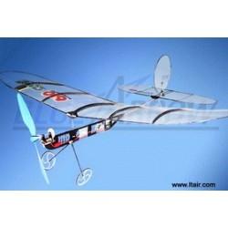 TILBUD: 35Mhz Cupid 610-2 3-Channel Ultralight In-door Glider ARTF