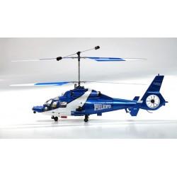 Wlkera 53Q - flot fjernstyret co-axial helikopter m. lys