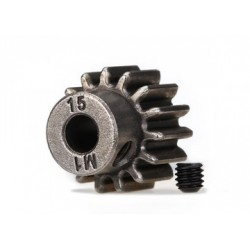 TRX6487 Pinion Gear, 15T (1.0P) 5mm TRAXXAS 6487