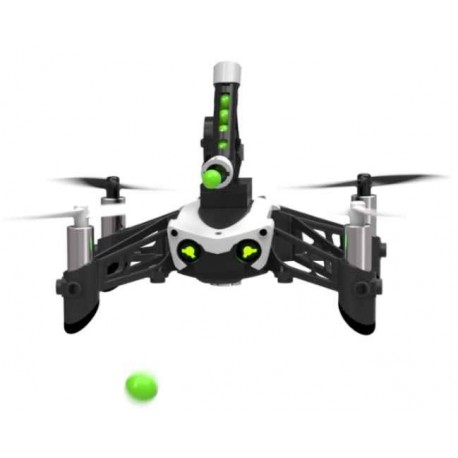 parrot mambo mini drone med skydende kanon og gribe klo. Black Bedroom Furniture Sets. Home Design Ideas