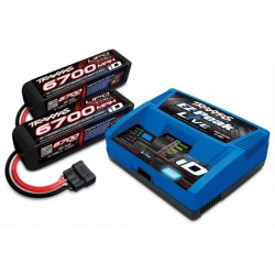 Traxxas Charger iD Live and batteri 14,8V 6700mAh kombo