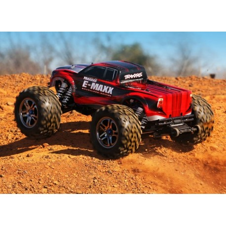 E-Maxx Brushless 4WD TSM Self-Righting w/o Battery & Charger