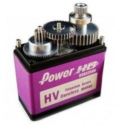 Power HD Digital Servo Titanium Gear 79g 25kg 0.145s DS8325HV