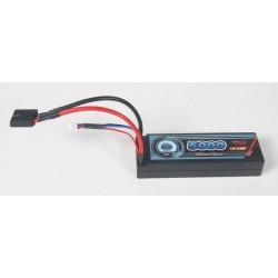 LiPo-batteri 7,4V - 5000mAh 30-c - Hardcase