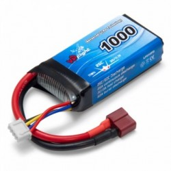 LiPo Battery 3S 11,1V 1000mAh 25C T-Connector