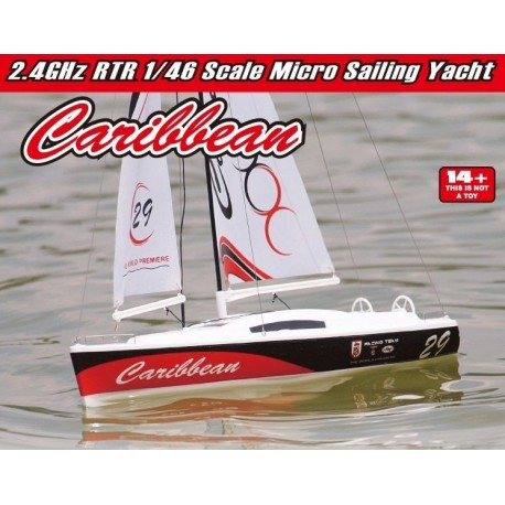 Caribbean MK2 Sailboat RTR 2.4G JW8802