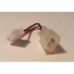 Adapterstik - JST 4 pin til stik