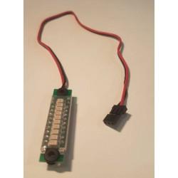 Batteriindikator til JST, Hitec, JR kontakt - han 30cm