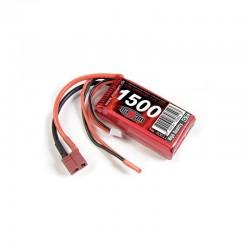LiPo 7,4V 1500mAh - 20c - Deans /T-plug/High-amp