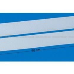 Burrebånd, B: 25x2 m, hvid, selvklæbende
