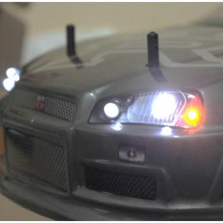 LED lyssæt til fjernstyrede biler