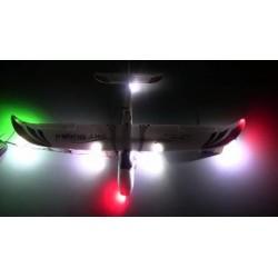 LED lys til fjernstyret fly