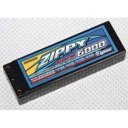 LiPo 7,4V 6000mah 2S2P 50C Hardcase Pack Zippy