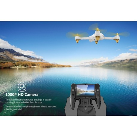 Hubsan H501S X4 FPV Brushless 220x220, HD-Kamera, GPS, Follow Me