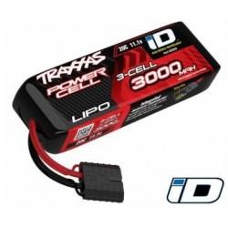 Li-Po Battery 3S 11,1V 3000mAh 25C iD-connector