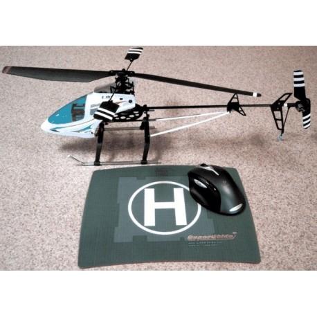 Helikopter samt drone landeplads - FUNC musemåtte