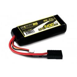 LiPo 11,1V 1400mAh 3s - perfekt til 1/16 modeller