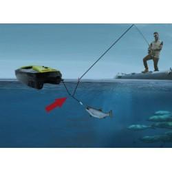 Fjernstyret båd til fiskeri - fang fisk! Baiting 500 Fishing Boat