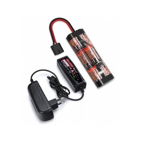 Traxxas 2984 Charger (2A) and 8,4V NiMH 3000mAh iD Combo TRX2984g