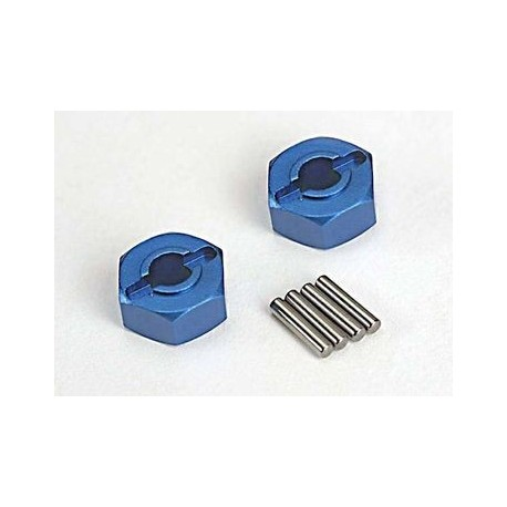 Traxxas 1654X Wheel Hubs Aluminium Hex 12mm (2)