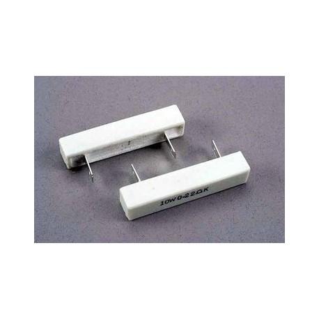 Traxxas 1718 Resistors for mech.speed